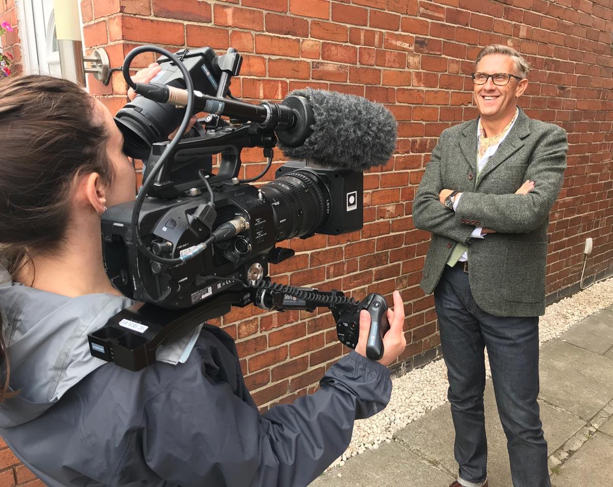 Graeme Hall on TV